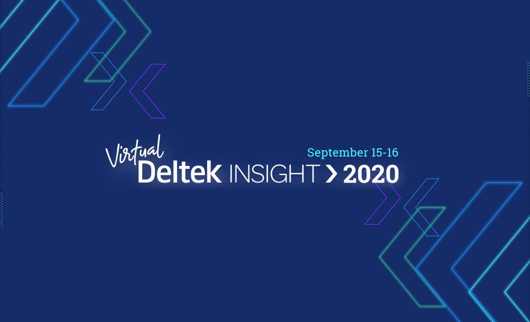 Deltek Insight 2020!