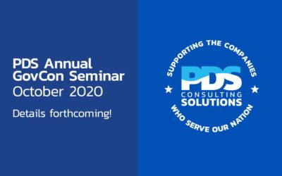 PDS GovCon 2020