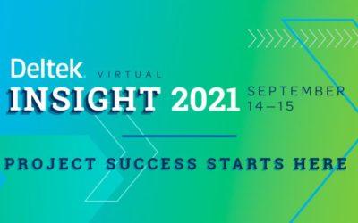 PDS is thrilled to sponsor Virtual Deltek Insight 2021!